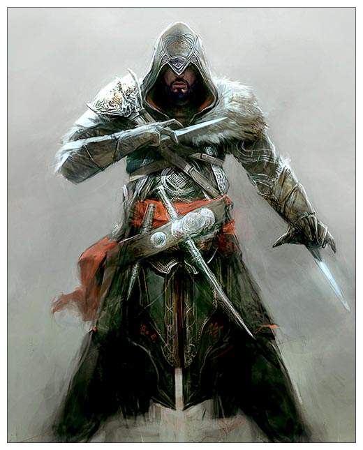 Хардпостер (на твёрдой основе) Assassin's Creed / Кредо ассасина